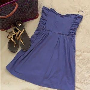 Oneil Purple Beach Dress Size L 95% Cotton
